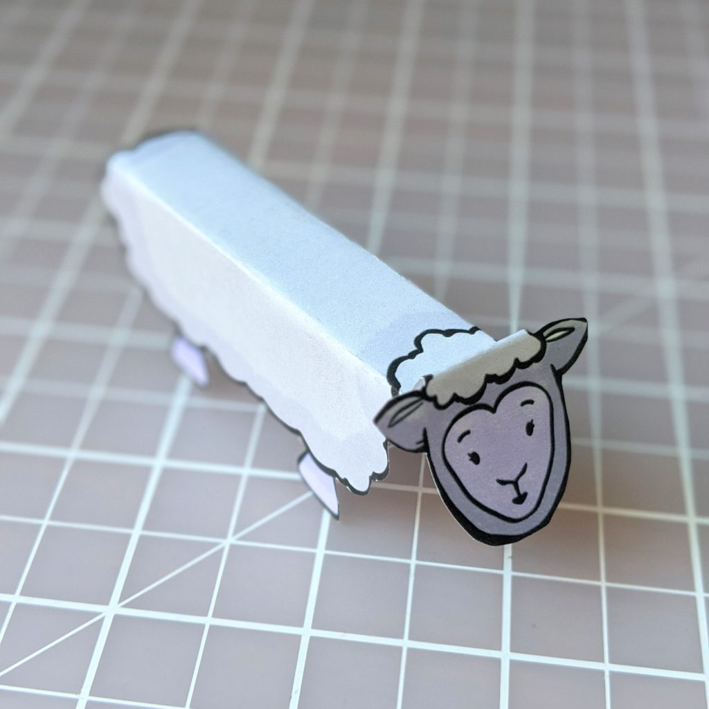 The lost sheep printable craft