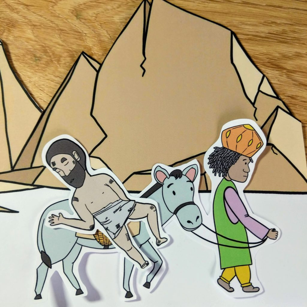 The good samaritan childrens craft