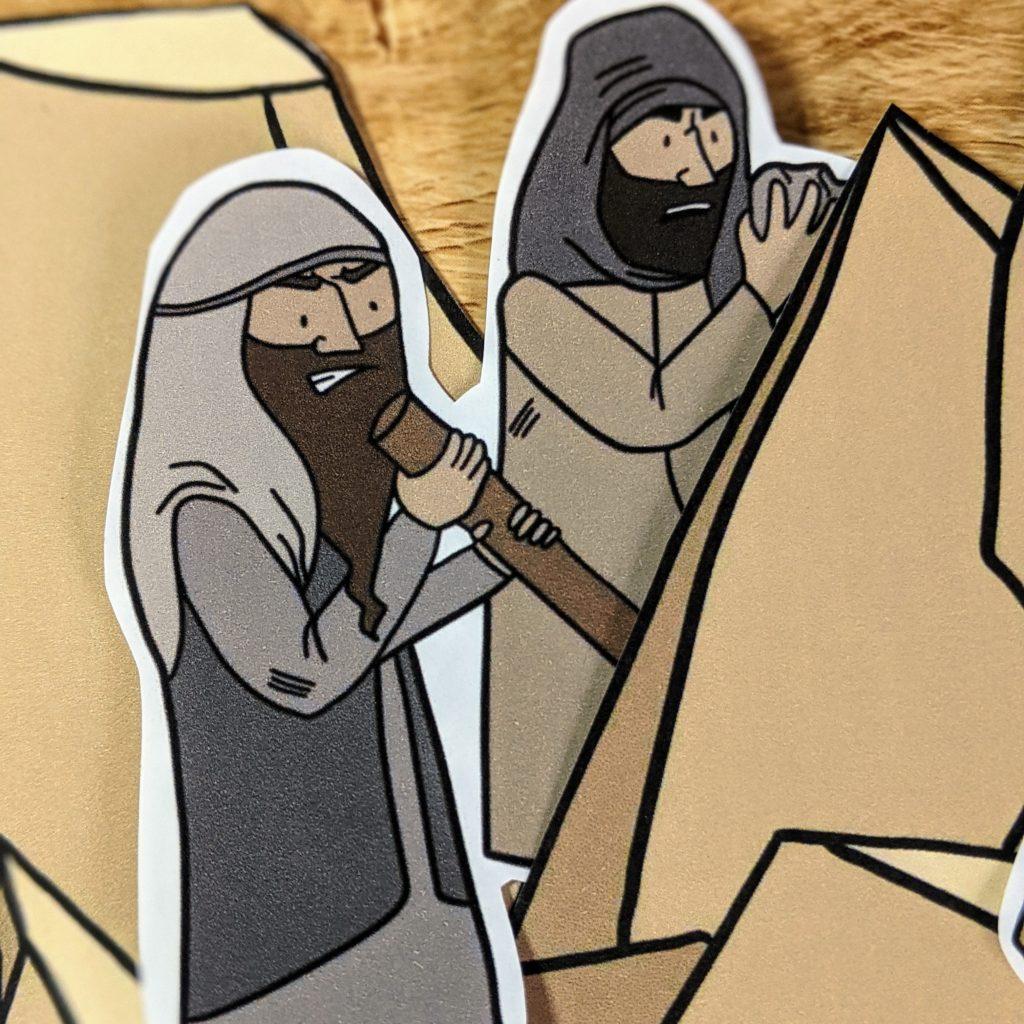 The good samaritan story for children craft