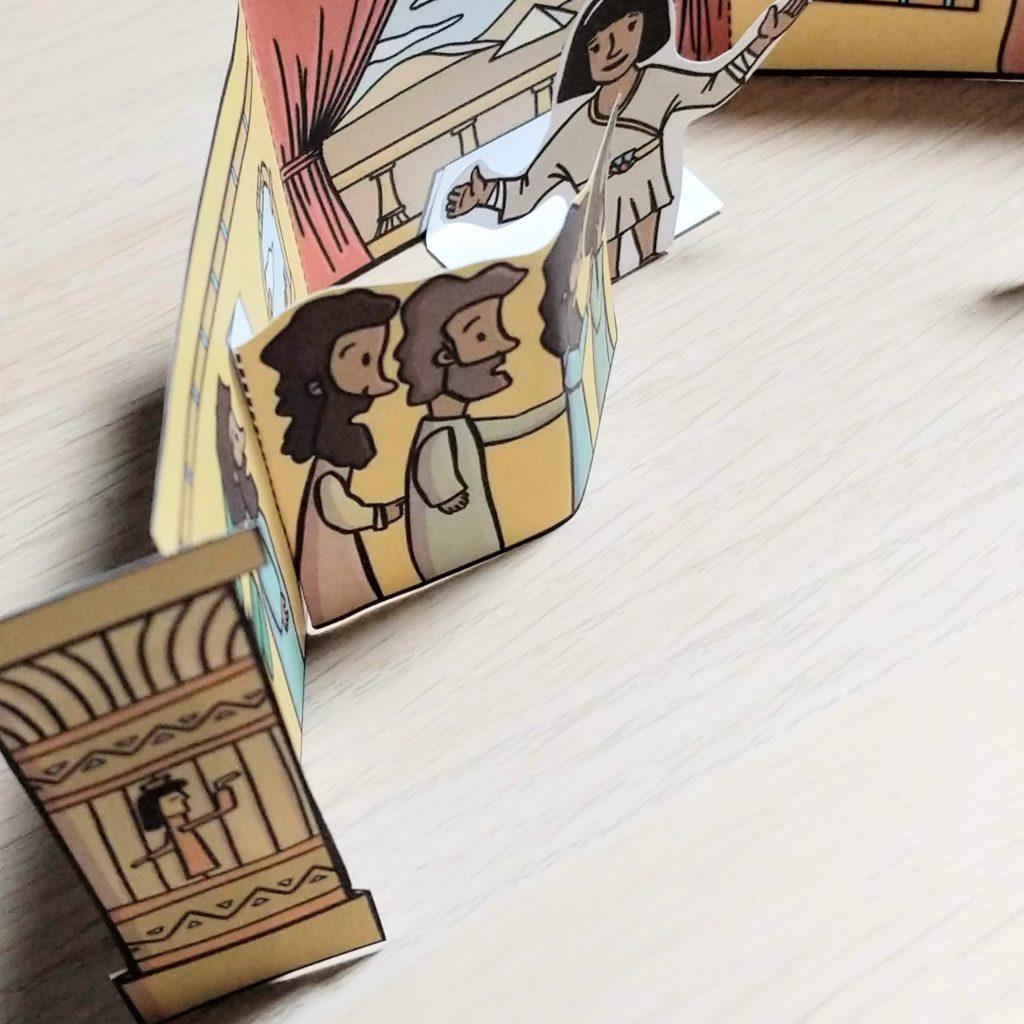 Joseph in egypt bible craft for kids 4