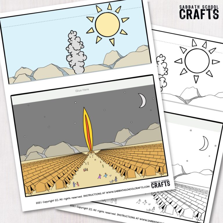 Pillar of cloud and fire craft