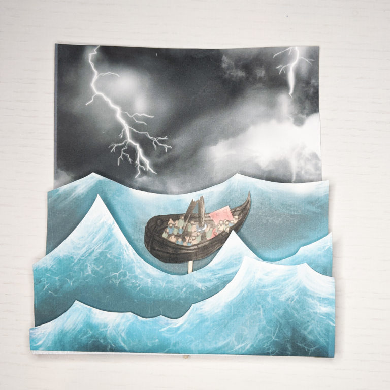 bible craft paul in storm