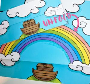 rainbow bible craft free printable