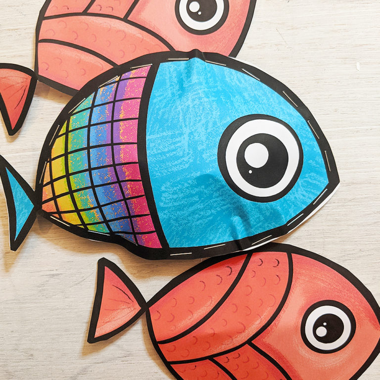 fish bible craft photo for little kids easy
