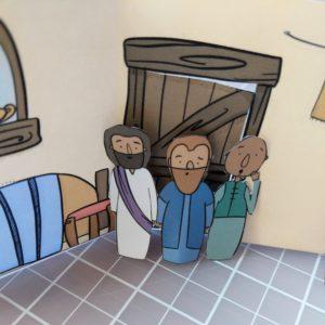 Jesus heals Simon Peters mother in law bible craft