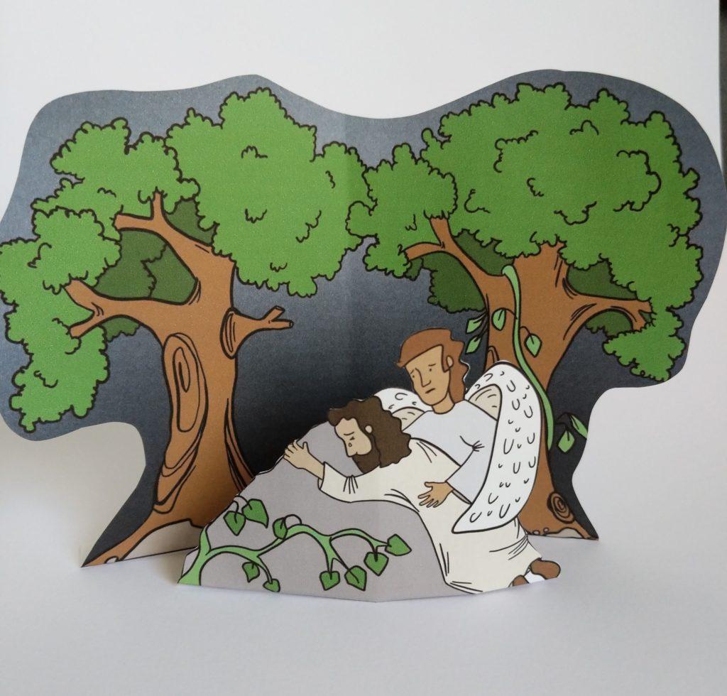 jesus ingethsemane easter craft