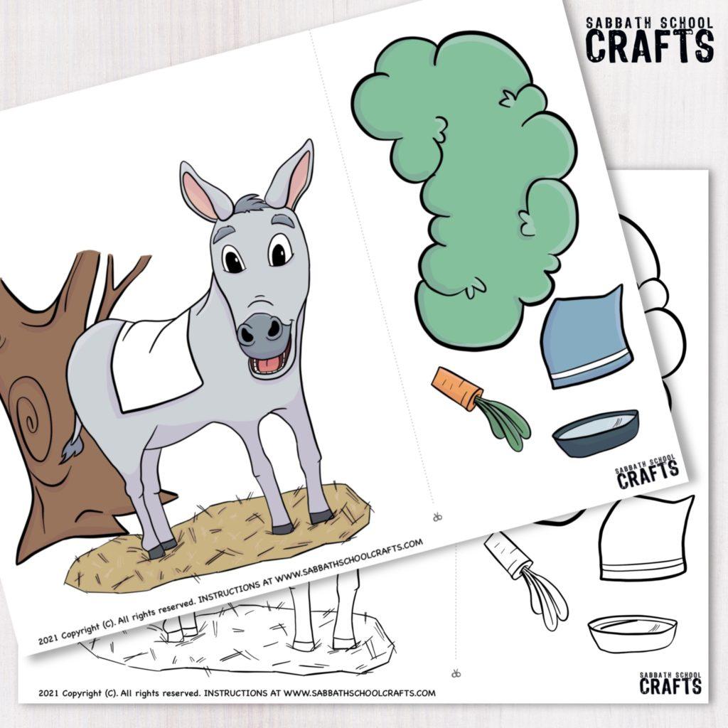 kids bible craft printable