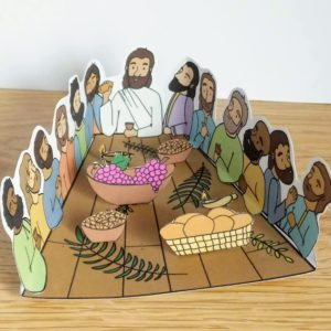 the last supper with jesus craft