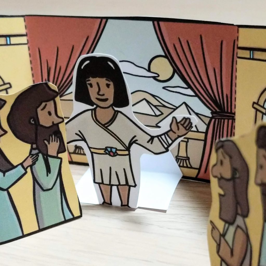 Joseph in egypt bible craft for kids 6