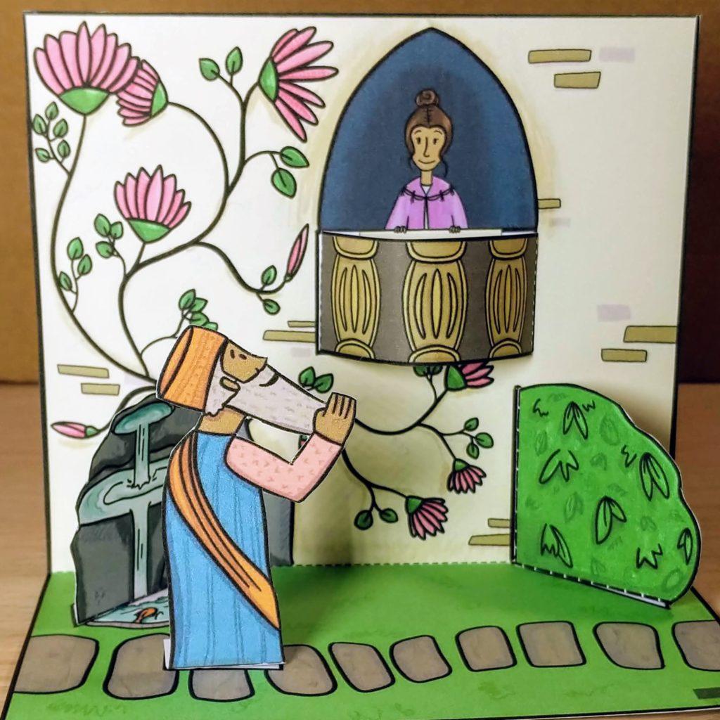 queen ether bible craft 2